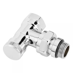 "003L0274 Voetventiel design RLV-X/C recht 1/2"" chroom Danfoss"