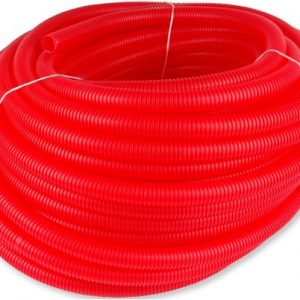 1012866 Rol a 50m. Mantelbuis 25x2,25mm NW29 rood Uponor