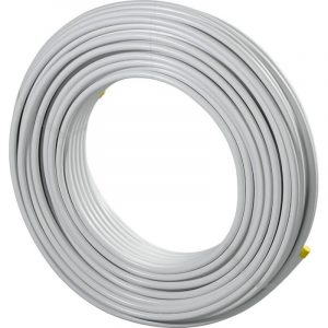 1013366 Rol a 200m. meerlagenbuis MLCP 14x2mm wit Uponor