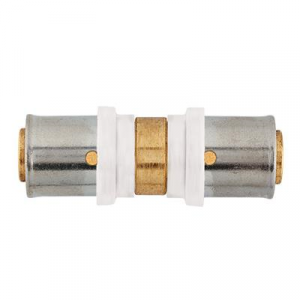 11.950 Perskoppeling 16x2,0mm tbv. REMS TH Albrand