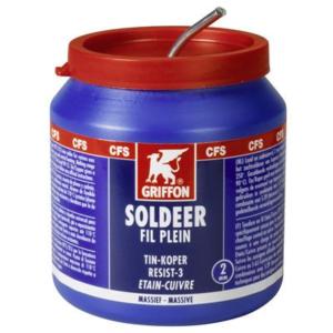 1236295 Pot a 500gr. soldeer Tin-zilver Resist 3 2mm Bison