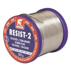 1236299 Spoel a 500gr. soldeer Tin-zilver Resist 2 2mm Bison