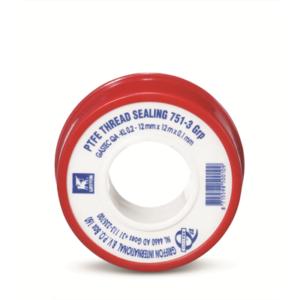 6150018 Afdichtingstape PTFE 12x0,1mm g rol a 12m. Bison