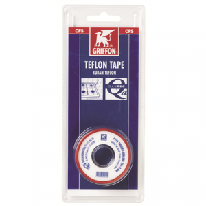 6304784 Teflon tape 0,1mm a 12mm in blister g Bison