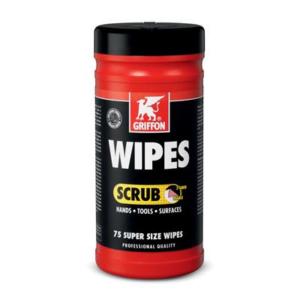 6307282 Reinigingsdoekjes Wipes scrub Pot a 75 st. Bison