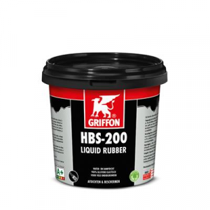 6308866 Vloeibaar rubber HBS-200 pot a 1 ltr. Bison